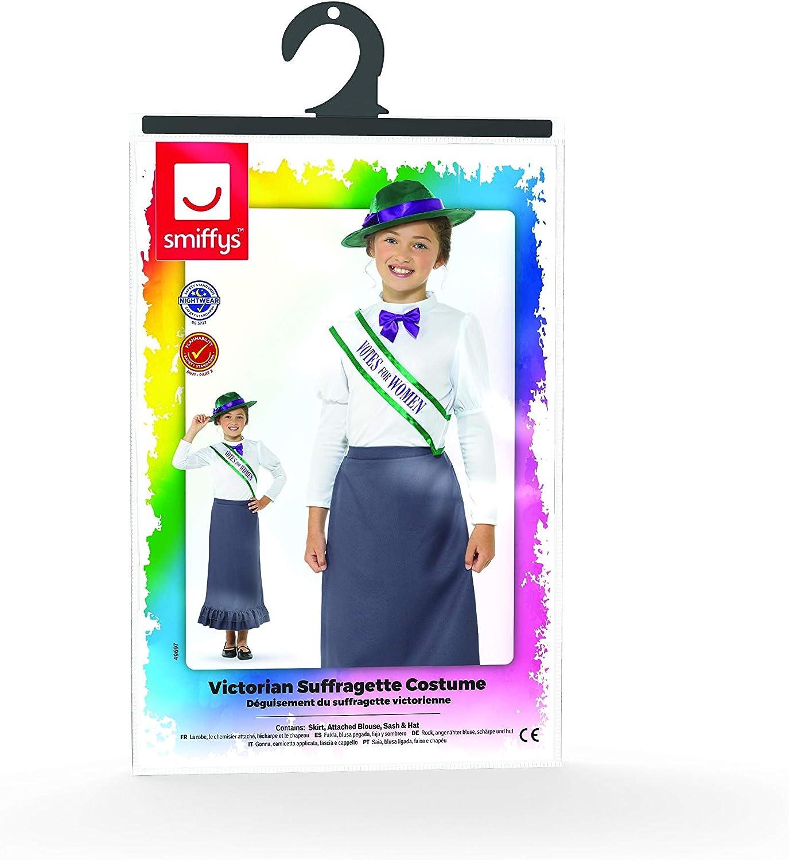 Brand New Victorian Suffragette Child Costume