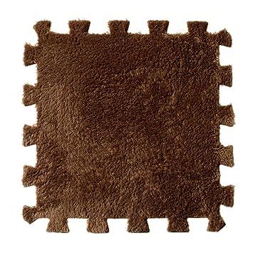 Dikewang Neueste 6 Pc EVA Eco Puzzle Rutschfest Wasserabweisend Teppich Mosaik  Fliesen Wohnzimmer Schlafzimmer Boden Dekoration