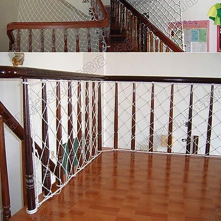 GLJJQMY Balcón protección contra caídas protección para niños Red protección protección de la Escalera Aislamiento Red Ancho 1,2 m/Longitud 2 ma 9 m Opcional Red de Seguridad: Amazon.es: Hogar