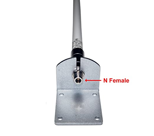 Proxicast 10 dBi 3G/4G/LTE High Gain Omni-Directional Fixed Mount Outdoor Fiberglass Antenna for Verizon, AT&T, Sprint