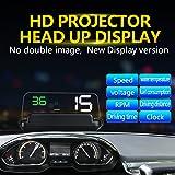 Car Head-up Display, Bysameyee Universal OBD 2