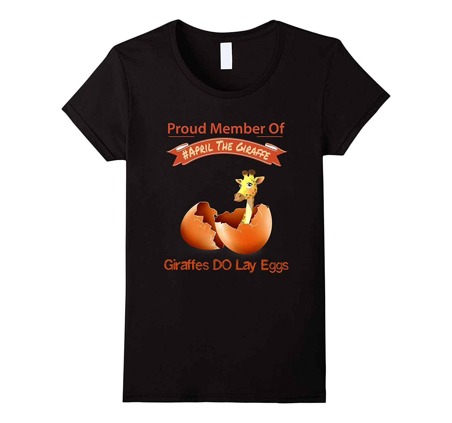 giraffe eggs cute t-shirt 2017