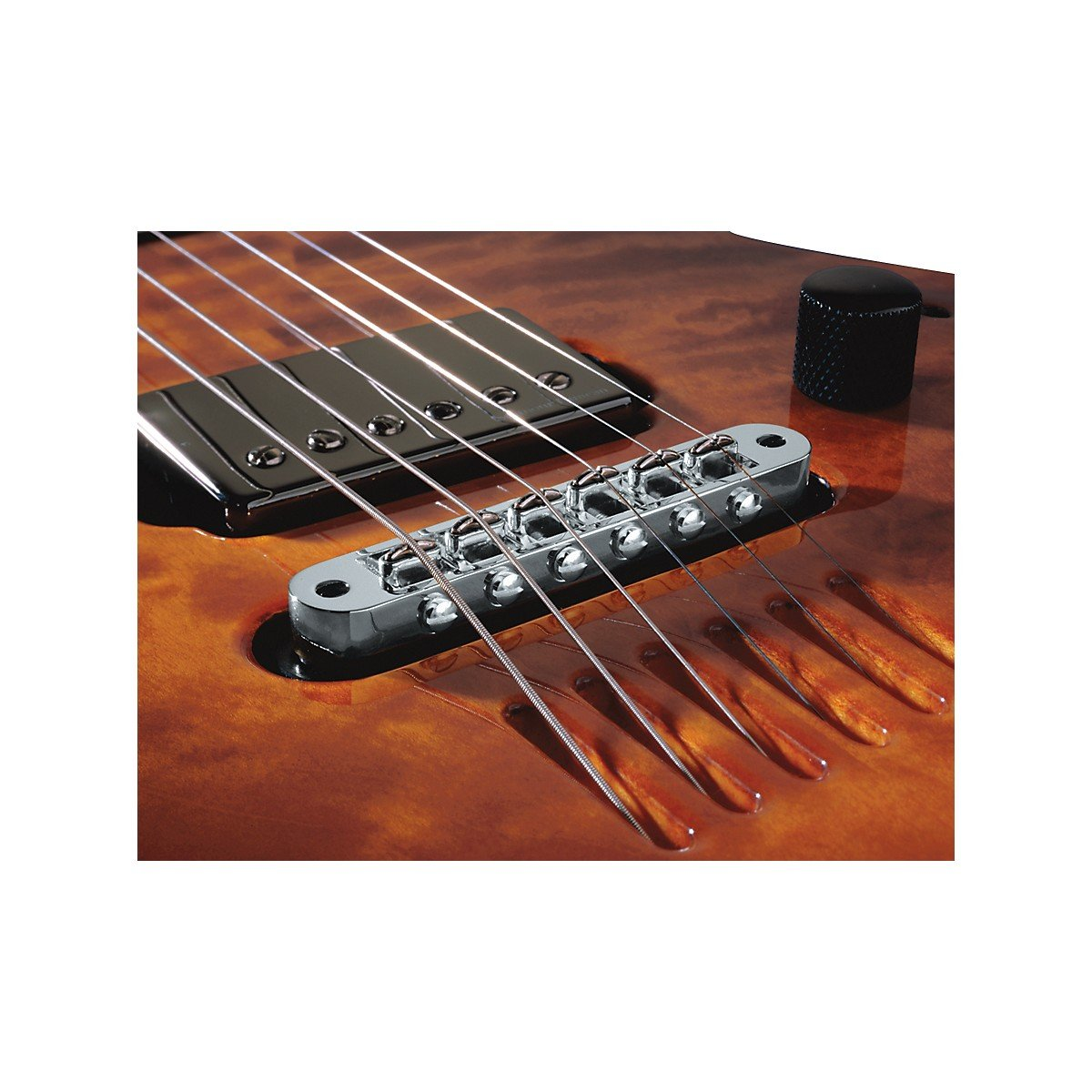 LR Baggs LR-TBCH T-Bridge Acoustic Tune-O-Matic Bridge Pickup Chrome