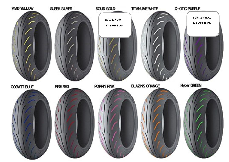 Pennarello per pneumatici bianco