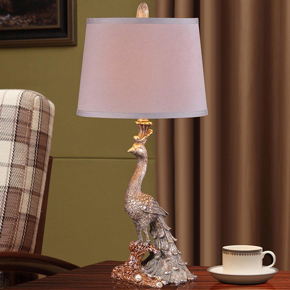 Retro Retro Retro klassische Pfau American Lamp Luxus Europäischen - Stil Lampen Schlafzimmer Bedside Lampe Kreative Wohnzimmer Licht ohne Lichtquelle Energie sparen B07JH1JPPH | Spielzeugwelt, fröhlicher Ozean  51ac7f