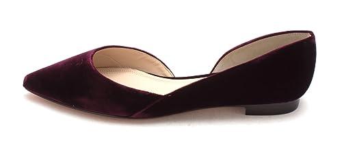 35c08e7837f Marc Fisher Womens Sunny2 Fabric Pointed Toe Slide Flats