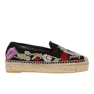 Alexander McQueen Femme 462290W4g411049 Multicolore Tissu Espadrilles