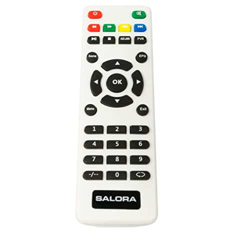 salora telecomando  Salora P06AT010006 telecomando Nero, Bianco Pulsanti:  ...