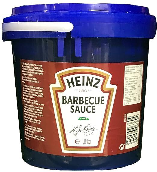Heinz Barbecue Sauce Bote de 1,8 Kg (Salsa Barbacoa)