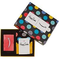 Carte cadeau ijcci.info.fr Dans un Coffret avec Chaussettes Happy Socks (Taille Unique)