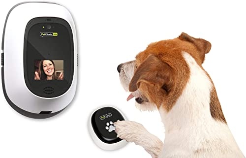 PetChatz PawCall HDX New USA Made Recommended Accessory, Interactive Gaming Device, Allows Your Pet to Message You Play Brain Treat Games While You re Away