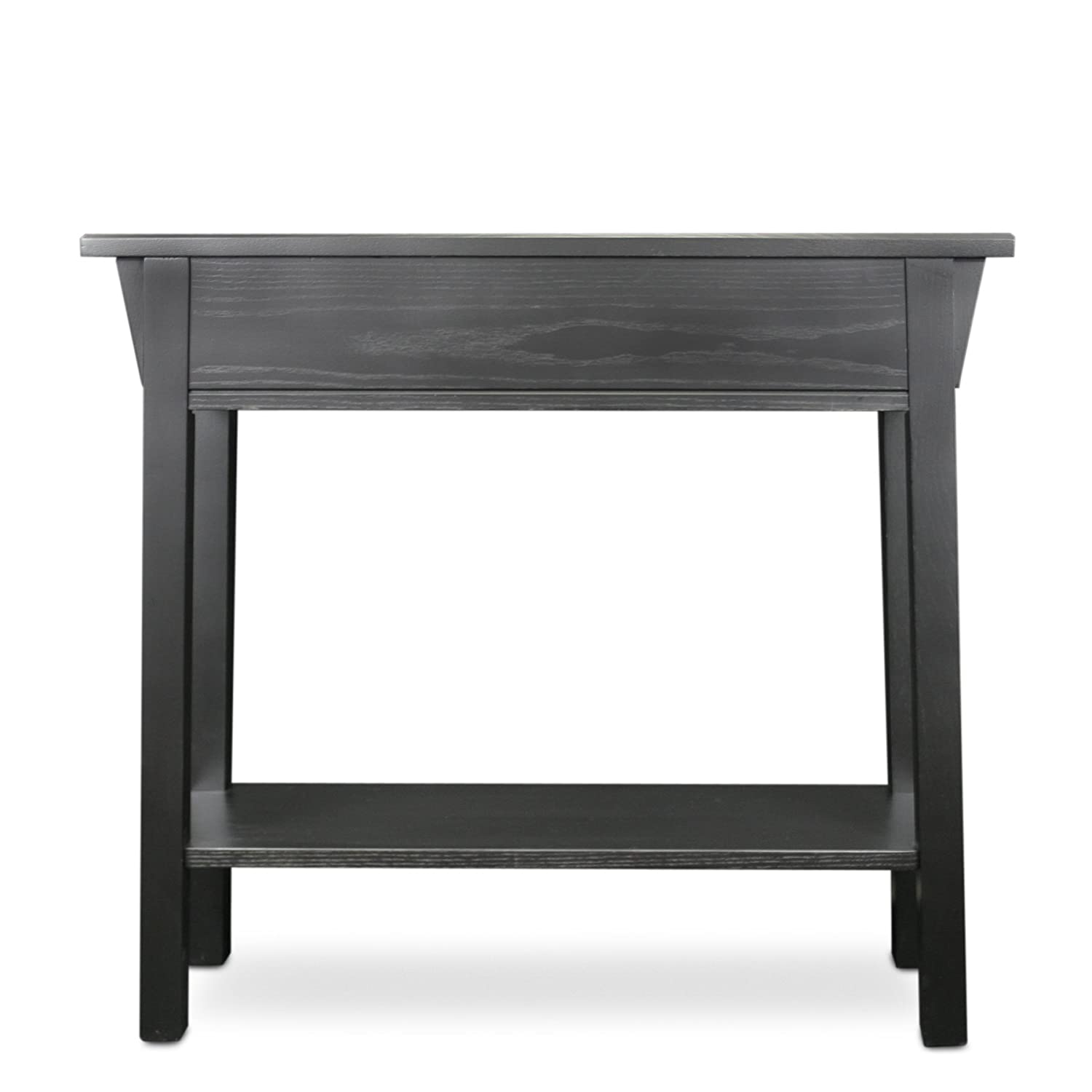 Amazon Leick Mission Hall Console Table Slate Black Kitchen