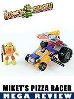 TMNT Mega Bloks Mikey's Pizza Racer Review