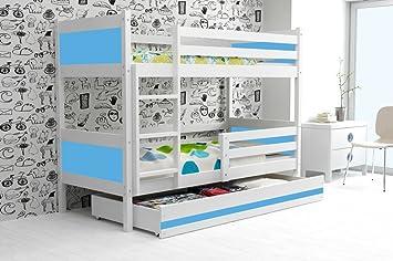 Etagenbett Kinder Jungs : Etagenbett rino 190 x 90 mit kommode bett für kinder und