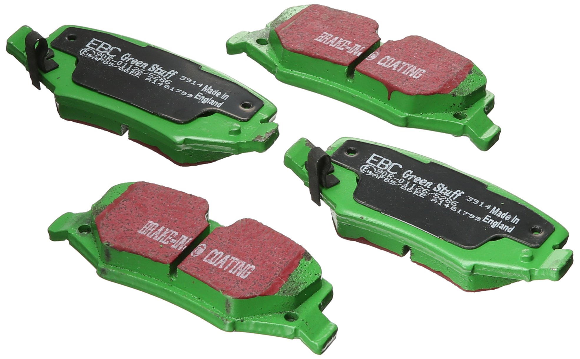 EBC Brakes DP61799 6000 Series Greenstuff Truck and SUV Rear Brake Pad