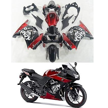 Amazon.com: Moto Onfire Fairings Fit for Kawasaki Ninja 250R ...