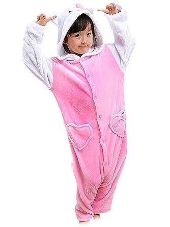 71768b50f0c01 Beunique Unisexe Filles Garçons Combinaison Pyjama Onesies Enfant Halloween  Noël Fête Costume Parties 85-145cm