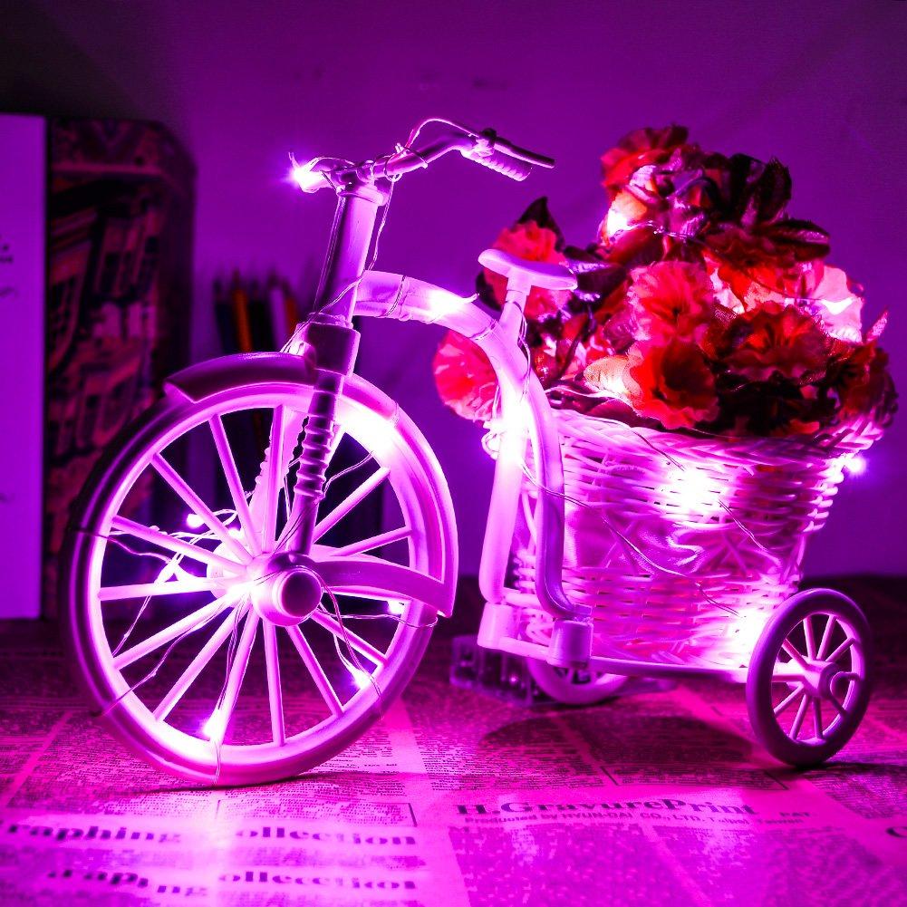 CrazyFire Kupfer Lichterketten,30 LED-Schnur-Licht ...
