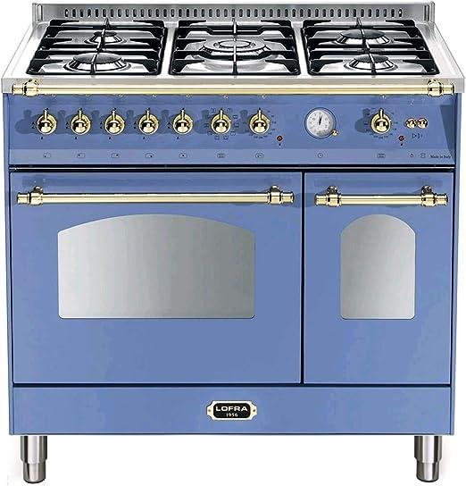 Lofra Cucina Combinata Dolcevita Rlvd96mfte Ci 90 Cm Lavanda Amazon It Grandi Elettrodomestici
