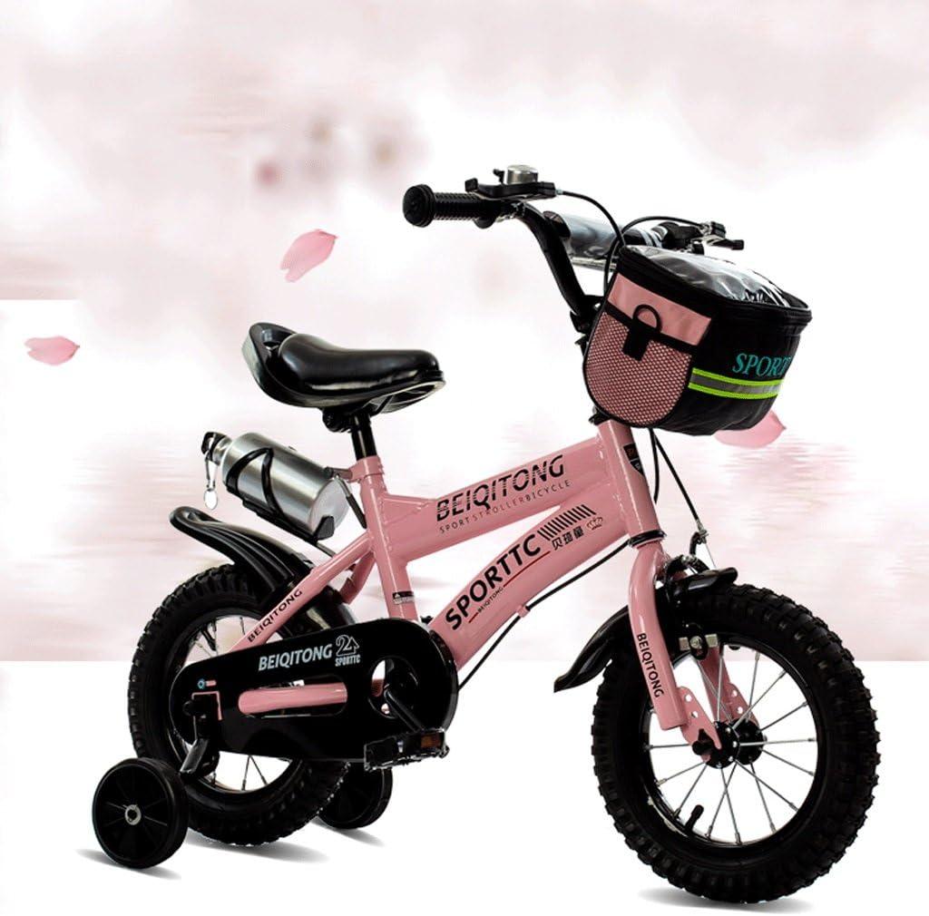 Great St. DGF Bicicletas para Niños 2-3-4-6-7-8-9-10 Años Vieja Bicicleta bebé Niña Carro de bebé 14161820 Pulgadas bebé Bicicleta (Color : Pink, Tamaño : 18 Inches): Amazon.es: Hogar