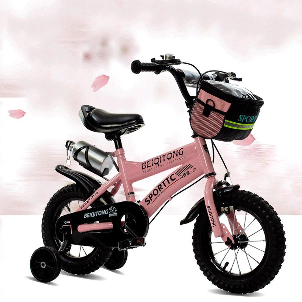 DGF 子供の自転車2-3-4-6-7-8-9-10歳の自転車の赤ちゃんの女の子の赤ちゃんのキャリッジ14161820インチの赤ちゃんの自転車 (色 : ピンク ぴんく, サイズ さいず : 14 inches) B07F13JZBF 14 inches|ピンク ぴんく ピンク ぴんく 14 inches