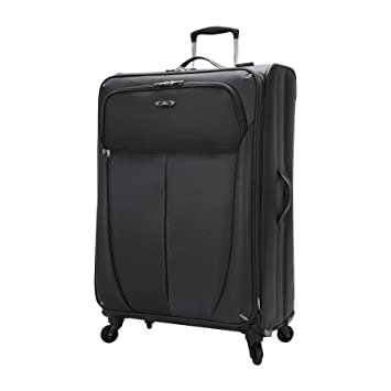 f55adcf3e Amazon.com | Skyway Luggage Mirage Superlight 28-Inch 4 Wheel Expandable  Upright, Black, One Size | Suitcases