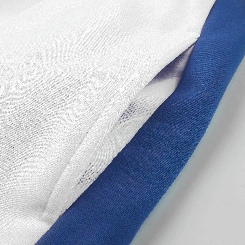 Jogger Sweatpants Patchwork Warm Running Suit Sweatshirt Mens Sports Casual Tracksuit Set