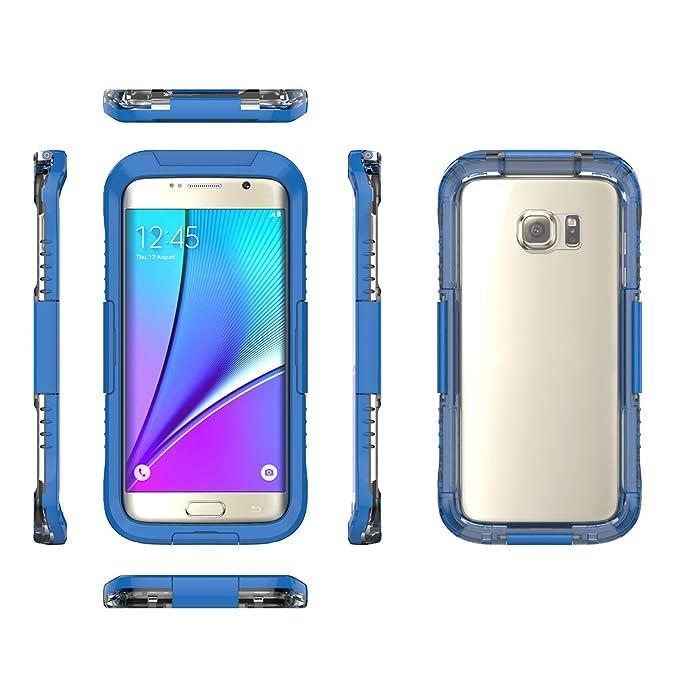 1 opinioni per Skitic Custodia Impermeabile Universale per Samsung Galaxy S7 Edge, Rigida Heavy