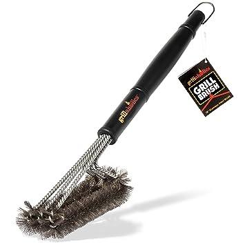 grillaholics parrilla cepillo, # 1 barbacoa accesorios de barbacoa, parrilla saludable para barbacoa de