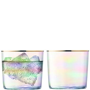 LSA International G060-09-201 Sorbet Tumbler Glass, One Size, Nougat