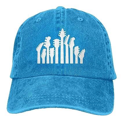 Walnut Cake Gorras béisbol Baseball Jeans Cap Music Guitar Musical Men Golf Hats Polo Style Low