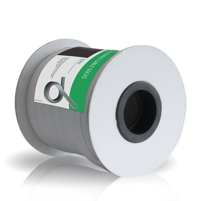 Conecto Conecto Conecto CC50316 Universeller Polyester-Kabelschlauch, selbst zusammenziehend, Ø 20mm, Rolle 50m, grau B075X695NB Kabelführungssysteme Britisches Temperament 215553