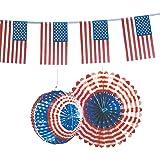 Amerikanisches Flair mit dem Deko-Set USA
