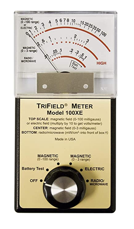 Trifield 100 X E EMF Meter