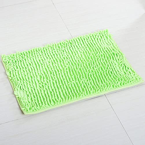 Happy Cool 47 63 Chenille Specific Color Indoor Outdoor Hello Doormat Decorative Entry Carpet Decor Front Entrance Large Small Inside Outside Front Door Mat Carpet Floor Rug Green