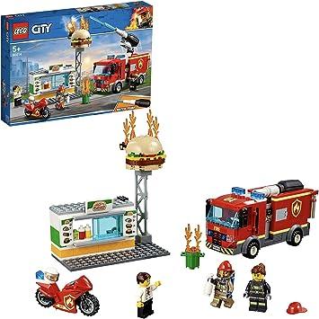 LEGO 3 X Classic pompiers Minifigures