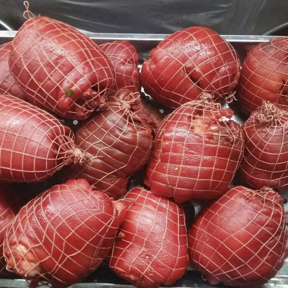 IMIKEYA 8Pcs Fleisch Netting Rolle Wurst Maker Fleisch Gefl/ügel Schinken Wurst Socke Elastische Netting Fleisch Butcher Twine Net Fleisch Binden Rollen f/ür Fleisch Wurst Machen Und 1M