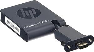 HP Jetdirect 2700w - Servidor de impresión (Wireless LAN, IEEE 802.11b, IEEE 802.11g, IEEE 802.11n, 128-bit AES, EAP, EAP-TLS, LEAP, PEAP, SSL/TLS, TKIP, WEP, WPA, WPA2, IPv4/IPv6: SNMPv1/v2c/v3, HTTP, HTTPS, FTP, TFTP, 9100, LPD, IPP, Secure-IPP, WS Discovery, WS Print, IBM iSeries, Novell NetWare 5.x, Yes, Microsoft Windows 7/Vista/Vista 64-bit/ XP/XP 64-bit/Server 2008/2008 64-bit/Server 2003/2003 64-bit)