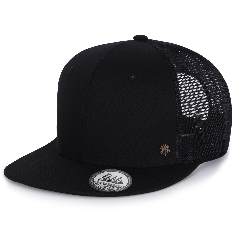 ililily Extra Large Size Solid Color Flat Bill Snapback Hat Blank Baseball  Cap 732d6656eceb