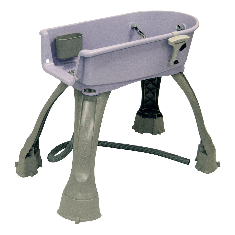 Booster Bath Elevated Pet Bathing Medium (Lilac)