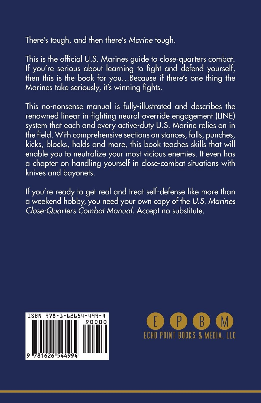 U.S. Marines Close-quarter Combat Manual: U.S. Marine Corps: 9781626544994:  Amazon.com: Books
