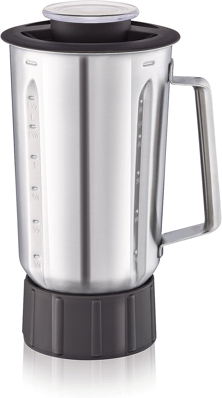 Moulinex Masterchef Gourmet Xf636Db1 Vaso Para Batidora, 1.5 L, Acero Inoxidable, Plateado: Amazon.es: Hogar