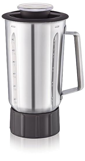 Moulinex Masterchef Gourmet Xf636Db1 Vaso Para Batidora, 1.5 L, Acero Inoxidable, Plateado