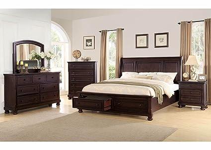 9300 Espresso Bedroom Set Queen Best
