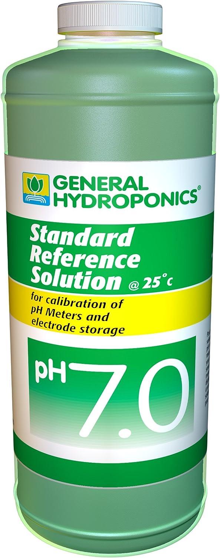 General Hydroponics Ph 7.0 Calibration Solution - 8 Ounces, 1 bottle