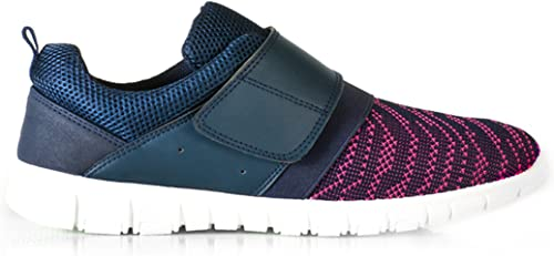 Womens Trainers Touch Fasten