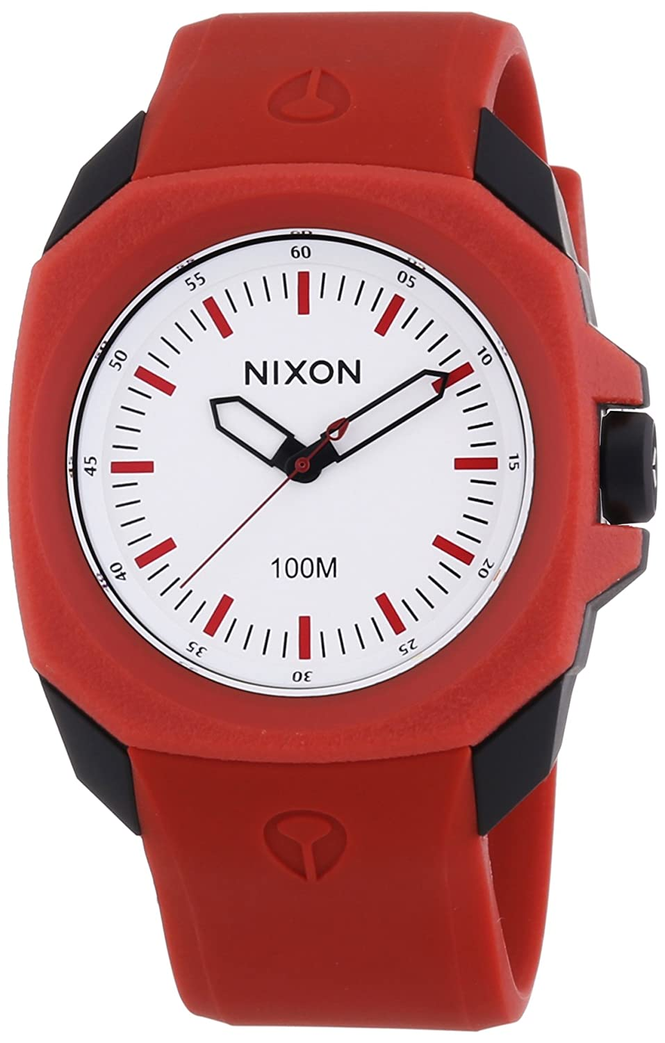 Amazon Com Nixon Women S Ruckus Quartz Plastic And Polyurethane