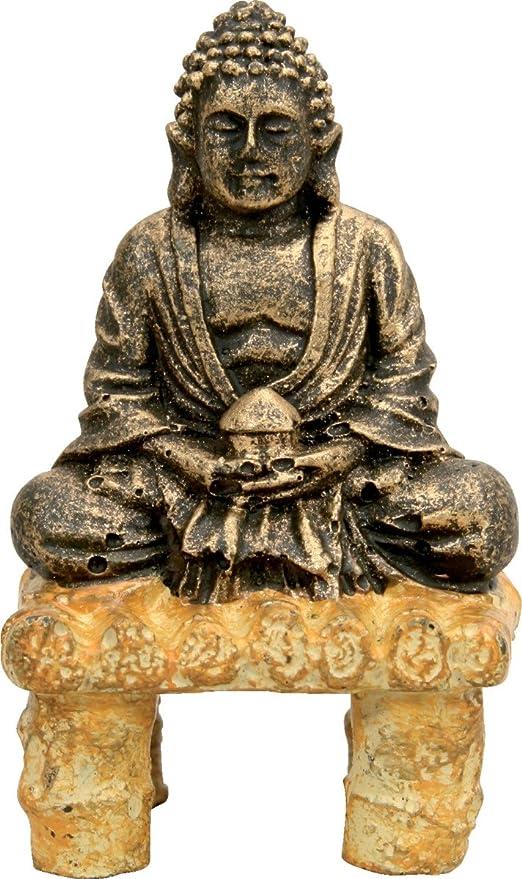 Decoración para acuario con forma de Buda sentado