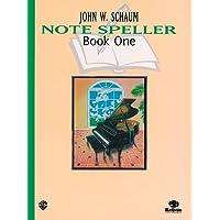 Schaum Note Spellers (Schaum Method Supplement)