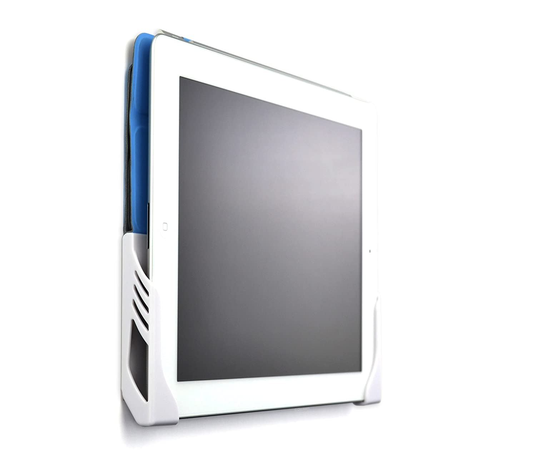 Support Mural pour Tablette, Version à Visser; Station d'accueil à fixation murale pour tablette Koala Mount par Dockem ; pour iPad 1/2/3/4, iPad Air 1/2, iPad Mini 1/2/3/4, iPad Pro, Samsung Galaxy Tab/Note, Google Nexus 7/9/10 (version Chro
